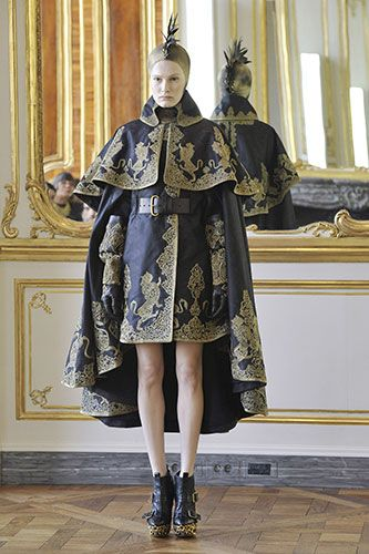 I would live in almost every single one of these last Alexander McQueen pieces. They turned me on to fashion.