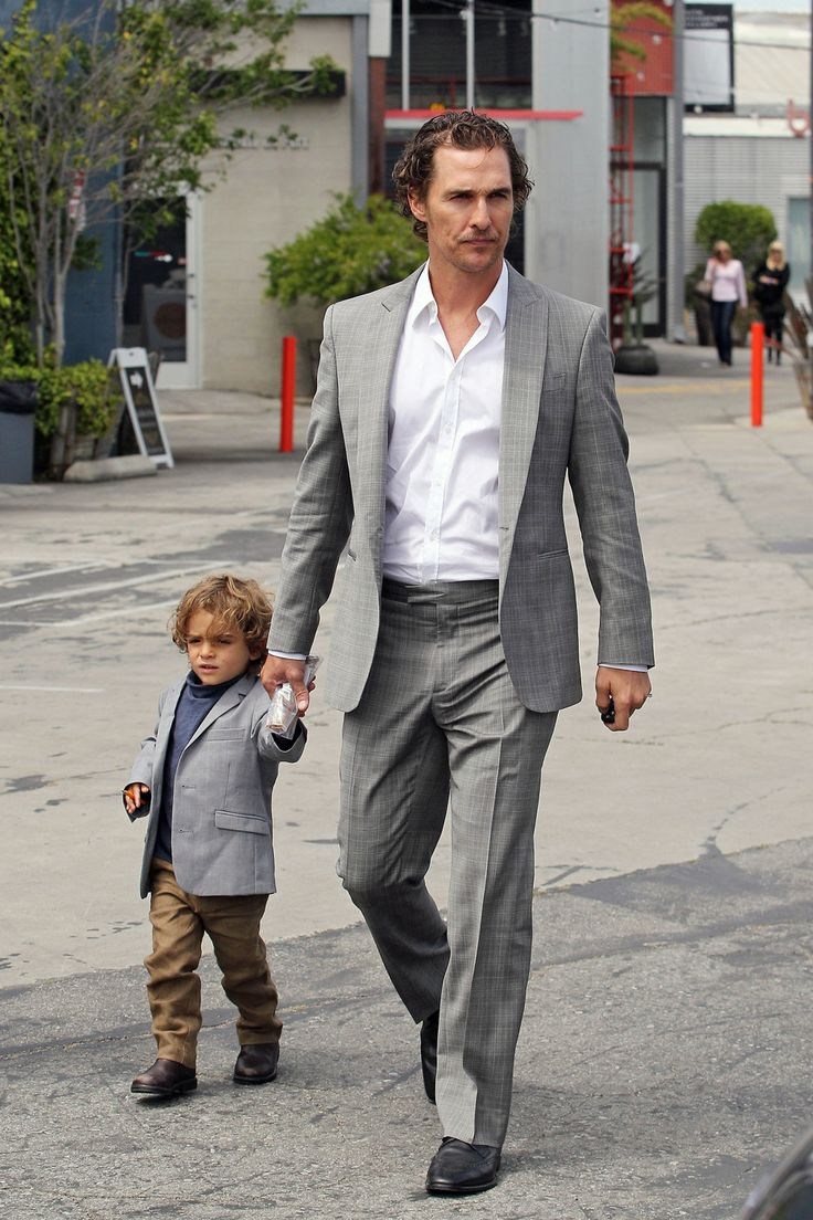 celebrity dads and their mini-mes