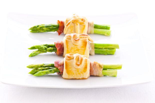 Bacon e asparagi