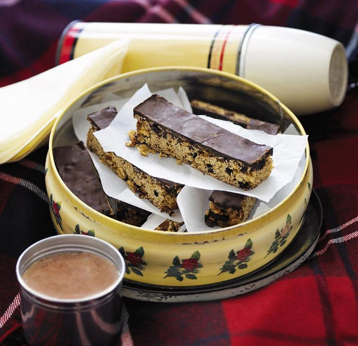 These fabulous fruity flapjacks are perfect for a picnic or just as nice dunked in a cup of tea.