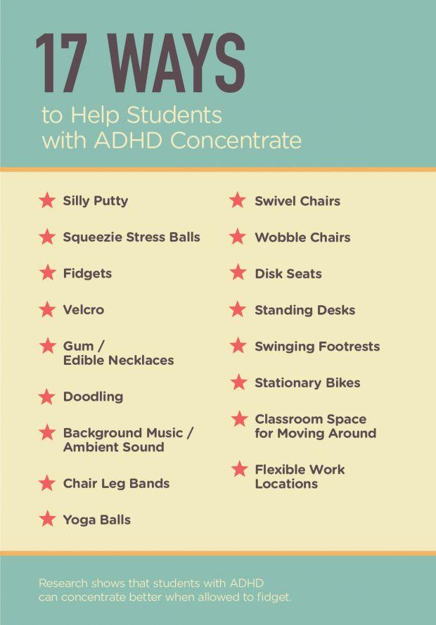 Great ideas for letting students quietly fidget. | Edutopia