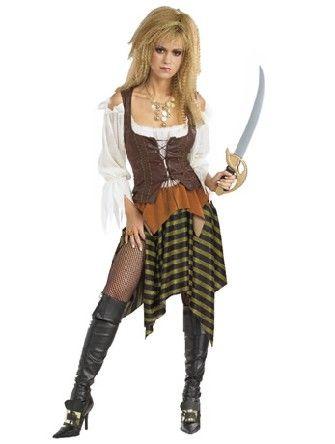 Costume de jeune fille de pirate Deguisement Pirates