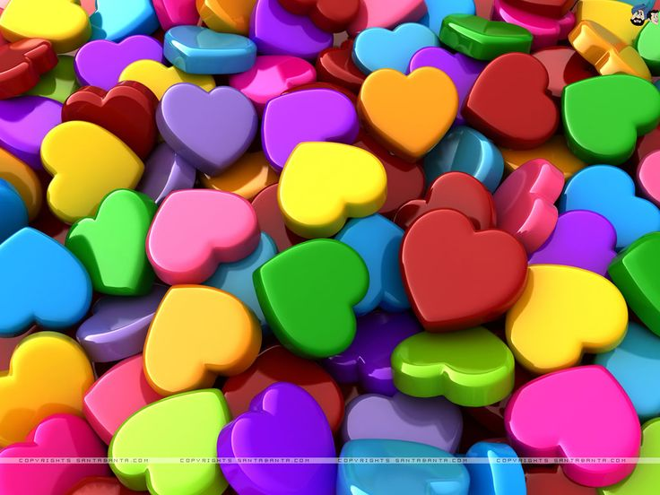 a305a86c093d5fc29eb211e3e7d27b8c candy hearts jar of hearts - My heart is full of many colours...