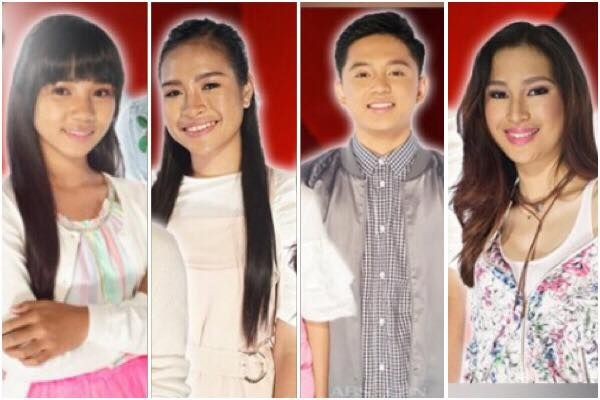 """The Voice Teens Philippines final four artists revealed! In an episode this weekend, ABS-CBN reality television competition for young singers has just announced the four finalists. Jona Marie Soquite for Team Sarah, she's the youngest contestant at 13, earned a spot in the grand finals after performing her own rendition of """"The Greatest Love Of All."""" Mica Becerro for Team Lea, also joined Jona in the grand finals after effortlessly sang her own version of Minnie Riperton's classic, """"Lovin'…"""
