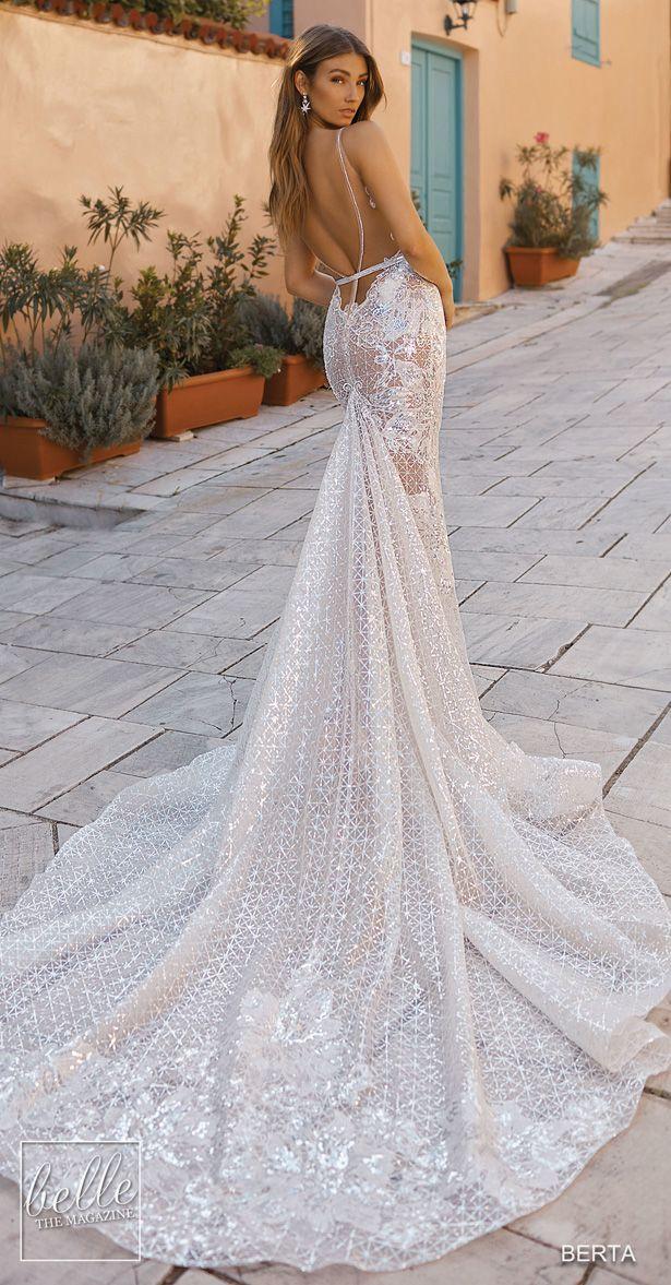 Berta Brautkleider 2019 Athens Bridal Collection Ruckenfreier