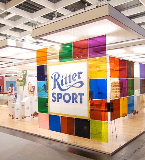 Ritter Sport Messestand