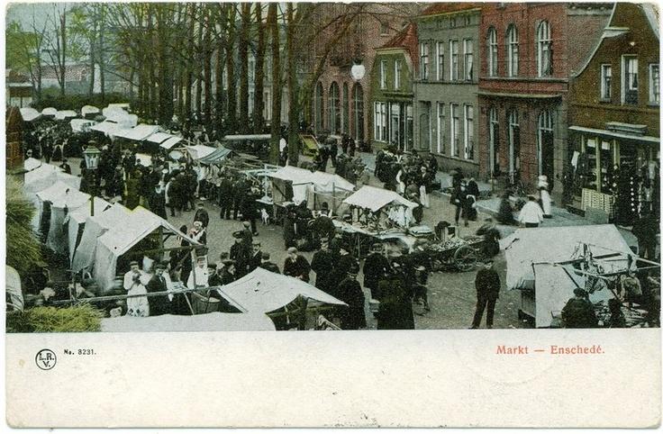 Oude Markt 13-8-1908.