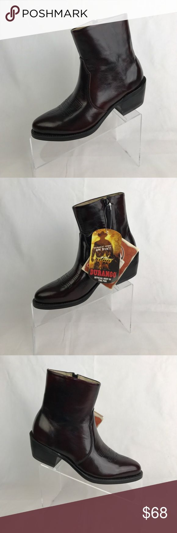 Women's Durango Western Boots 6EE Boots are brand new with tags. They are a maroon wine color. Durango Shoes Ankle Boots & Booties