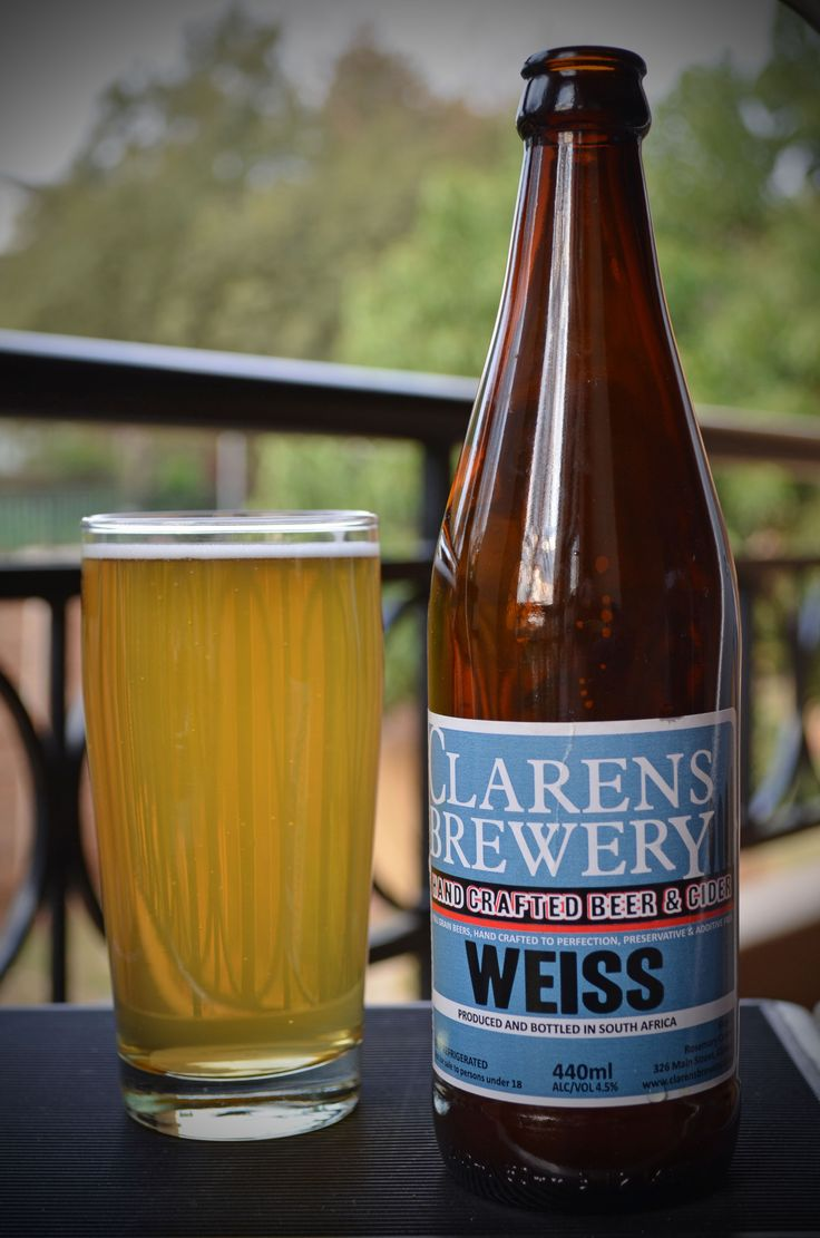 Clarens Brewery - Weiss