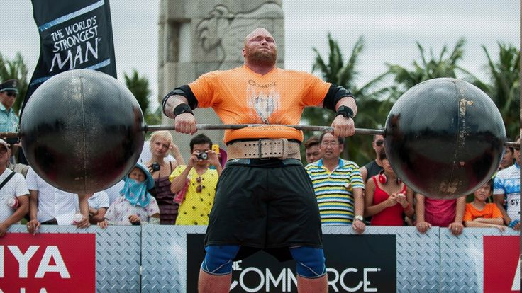 'The Mountain' Says He Was Robbed Of World's Strongest Man Title