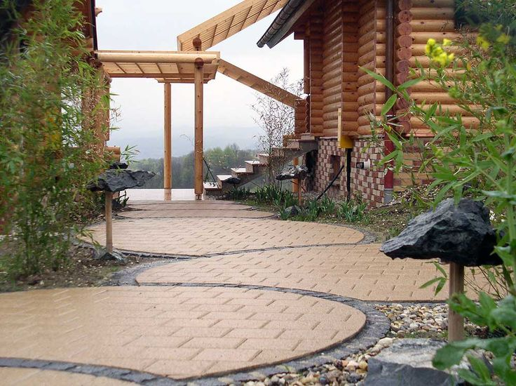 Specially arranged path of cubes - Garten design ideas - Design by Mirko Stijaković - www.kotaci.com - Chemin spécialement organisé de cubes - sentiero appositamente organizzati di cubi - ruta especialmente dispuestas de cubos - специально организованные путь кубов - キューブ特別配置パス