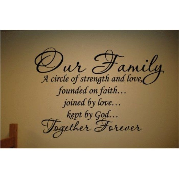 Family Quotes On Pinterest: Bible Family Quotes And Sayings. QuotesGram Via Relatably