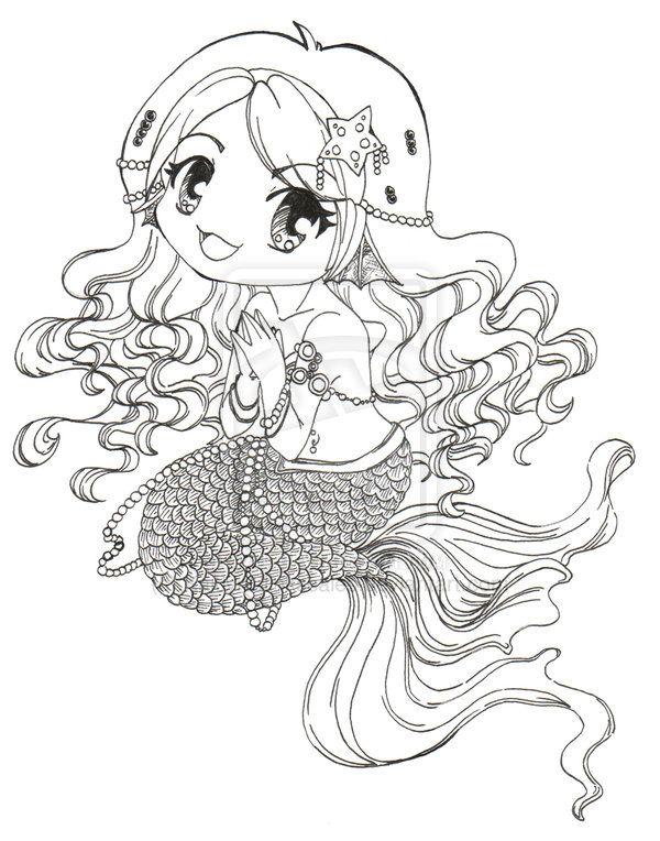 Chibi Mermaid Wip 2 By Clinkorz Deviantart Com On