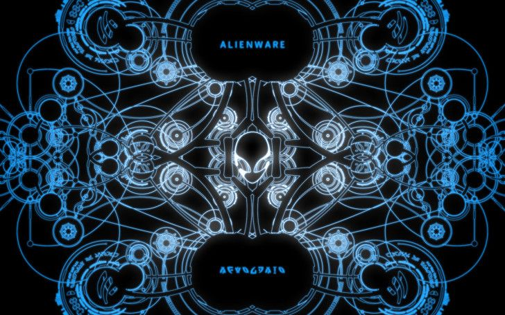 Alienware Wallpapers: Alienware Blue Desktop ~ celwall.com Technology Wallpapers Inspiration