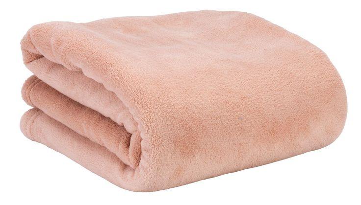 Huopa BELLIS mikrokuitu 140x200 roosa | JYSK