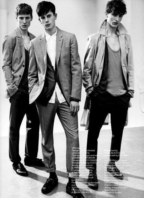 George Barnett Jeremy Young Charlie France Models Pinterest