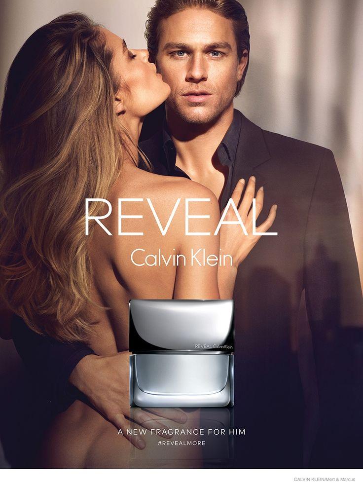 Doutzen Kroes and actor Charlie Hunnam for Calvin Klein REVEAL Ad Campaign | via www.orientsystem.com