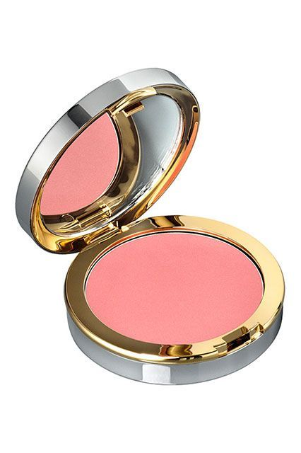 """""""I love a rosy cream blush for summer; it instantly brightens up your face and plays well with the heat. This one is a bit on the pricey side, but the moisturizing formula kept my usual cheek breakouts at bay.""""La Prairie Cellular Radiance Cream Blush, $70, available at Nordstrom. #refinery29 http://www.refinery29.com/makeup-must-haves-favorite-products#slide-54"""