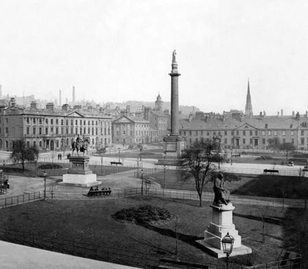 George Square in 1867
