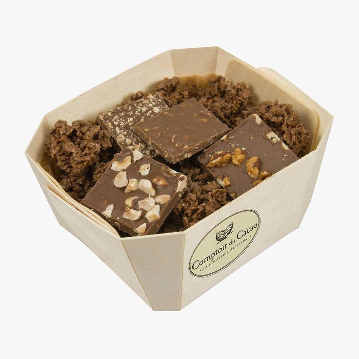Assortiment de chocolats au lait - Comptoir du Cacao - Find this product on Bon Marché website - La Grande Epicerie de Paris