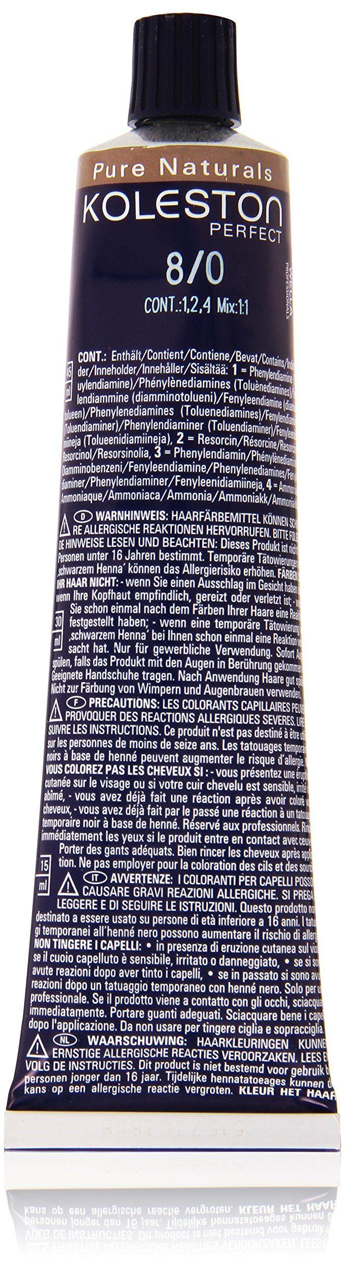 Wella KOLESTON PERFECT 8/0 60 ml. Buy Online Wella KOLESTON PERFECT 8/0 60 ml This product is 100% original with EAN code. (European Article Number) .