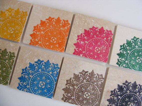 22 best Stamped Coasters images on Pinterest | DIY, Animal cards ...