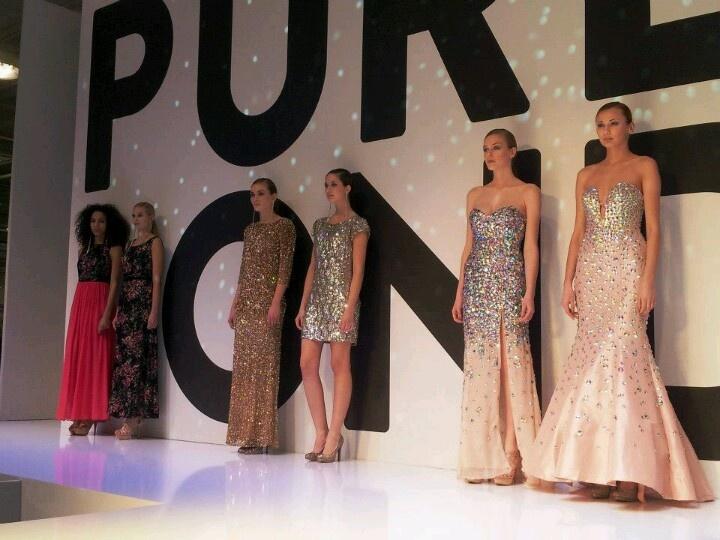 Pure london fashion show