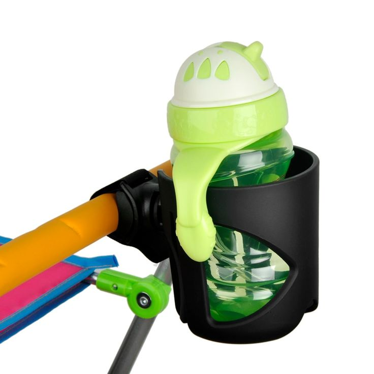 Baby stroller drink cup holder universal rotatable