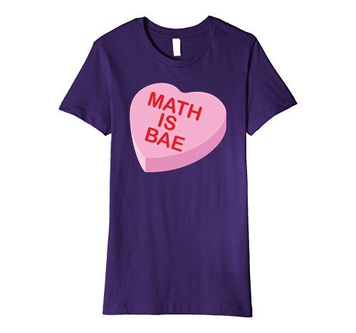 Women S Math Is Bae Valentine S Day Premium T Shirt Funny Teacher