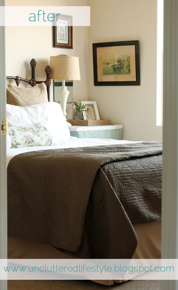 The Luxe Lifestyle Master Bedroom Reveal: Lovely Master Bedroom Corner Enhanced With A Collection Of