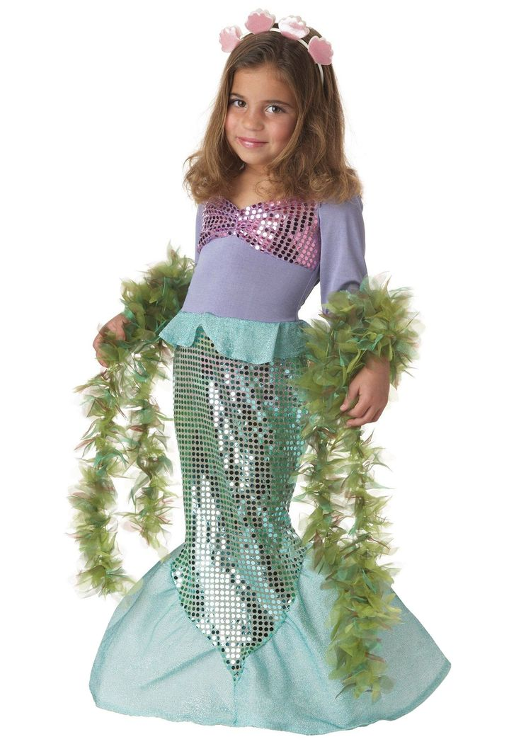how to make a mermaid tail costume for kids - Google Search