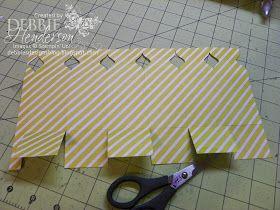 Debbie's Designs: 6-Sided Envelope Punch Board Hexagon Box!