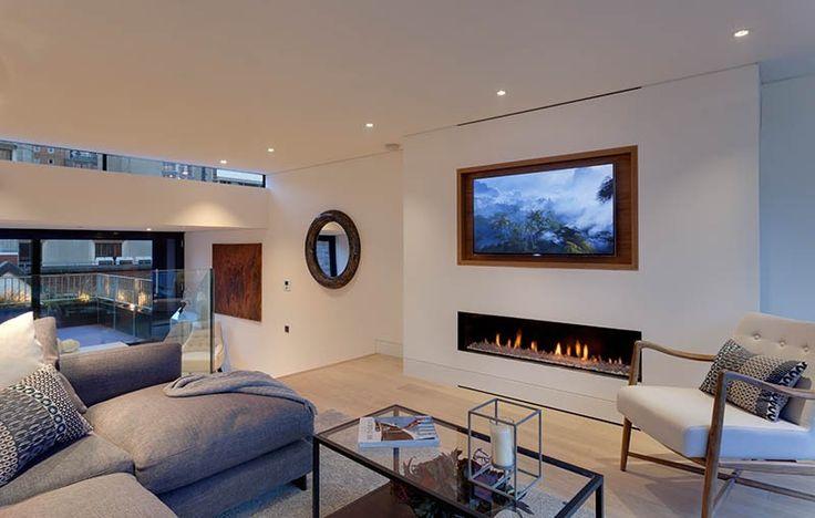 Design Tip – Recess A TV Above A Fireplace
