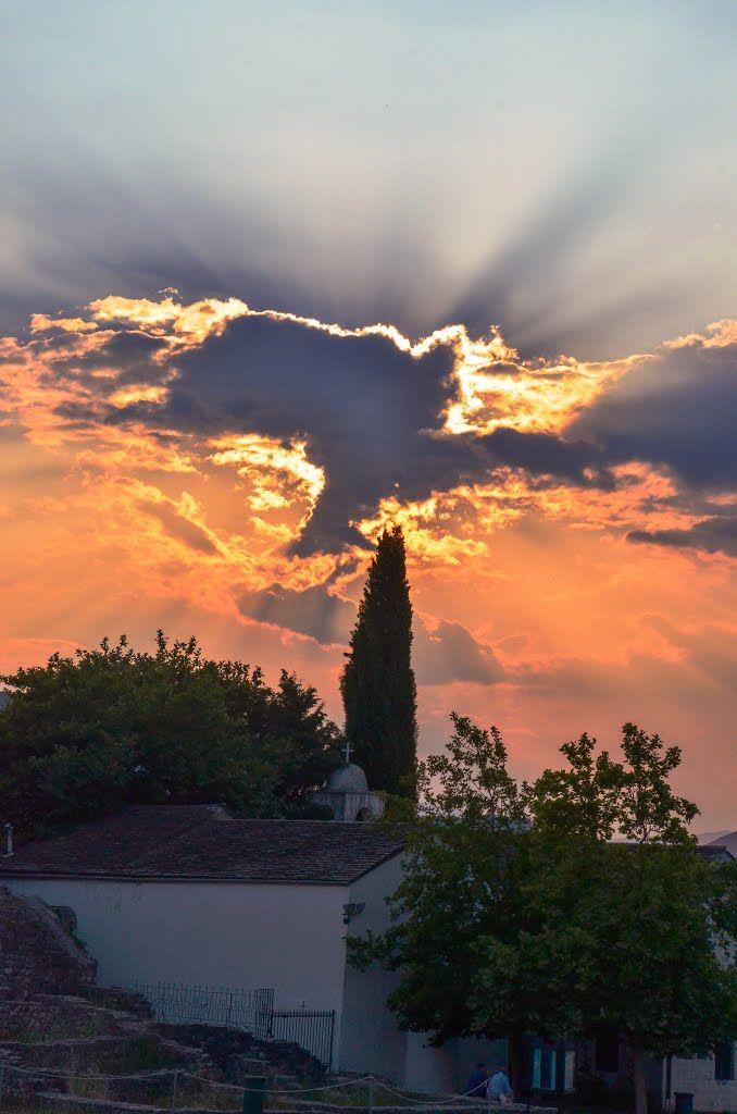 Sunset in Ioannina