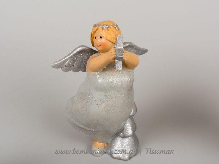 Χριστουγεννιάτικη διακόσμηση με αγγελάκια   bombonieres.com.gr