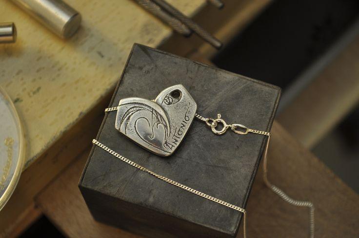 Pendente cuore - creazione personalizzata