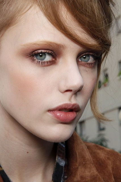 Autumn makeup #myAW13 and #next. Bit on the pale side but like the idea
