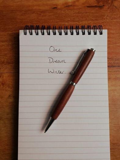 The Dream of Writing. - One Dream Writer
