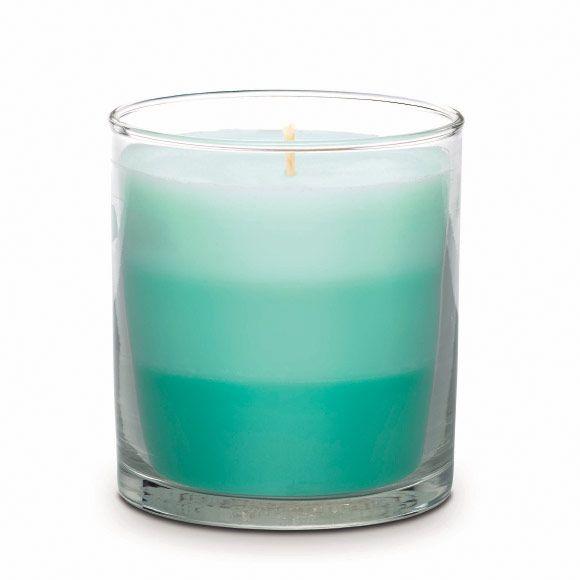 Raikas Aloe & Eukalyptus Kerrostettu kynttiläpurkki