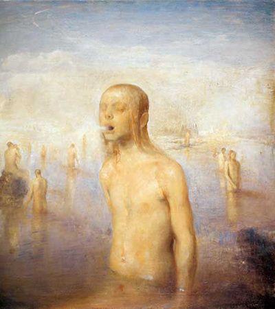 """Icelandic Bath,"" Odd Nerdrum"