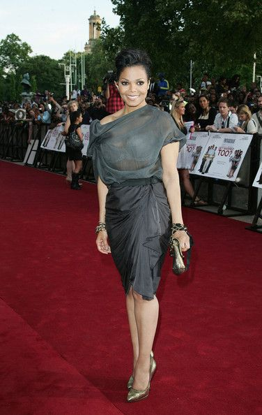 """Janet Jackson - Tyler Perry at the """"Why Did I Get Married Too?"""" Screening in London"""