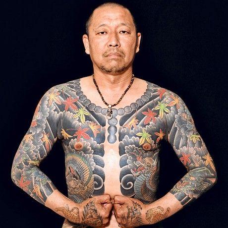 Traditional Japanese Tattooed Body | Tattoobite.com