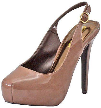 Breckelles Vanesa-12 Blush Women Platform Pumps   Sell Cheap Shoes
