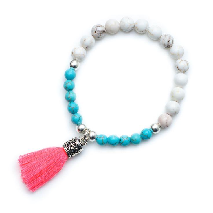 (http://www.xadajewellery.com/xada-semi-precious-gemstone-bead-tassel-bracelet/)