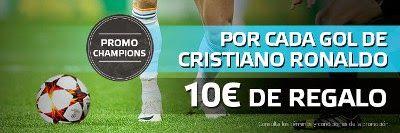 el forero jrvm y todos los bonos de deportes: suertia bono 50 euros si Ronaldo  marca Real Madri...