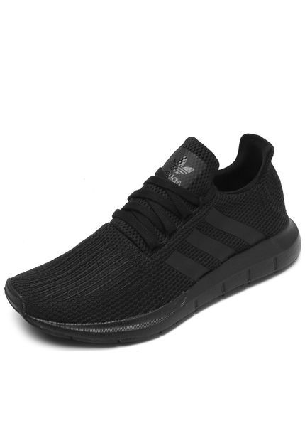 10cdd8447f9 Tênis adidas Originals Swift Run Preto - Marca adidas Originals