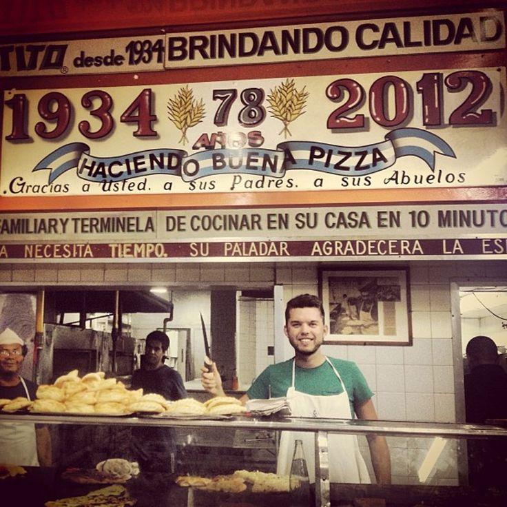 El Cuartito, Pizza Place and Argentinian Restaurant, Retiro, Buenos Aires