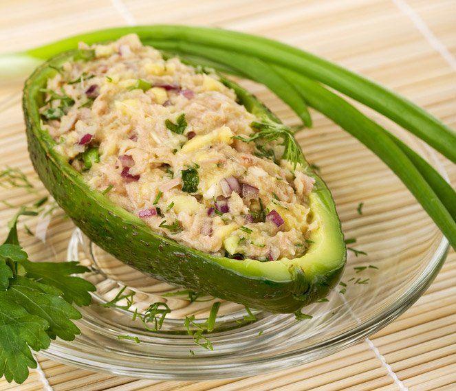ricetta Insalata di tonno e avocado