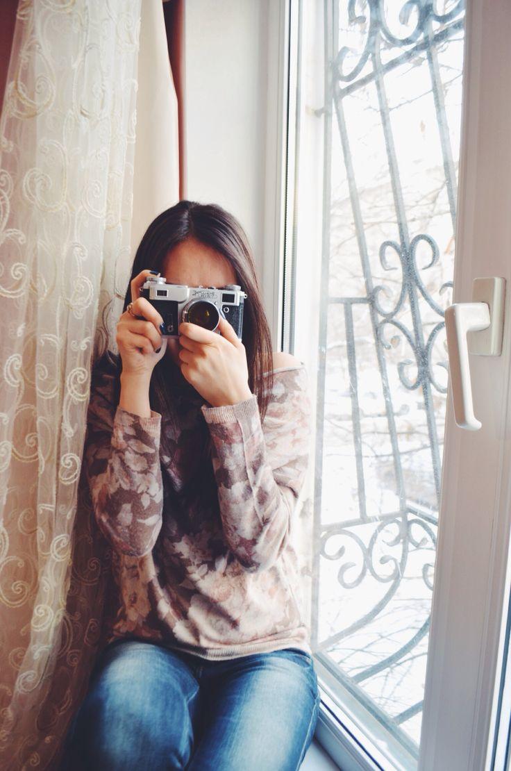 """My old """"Kiev"""" camera"""