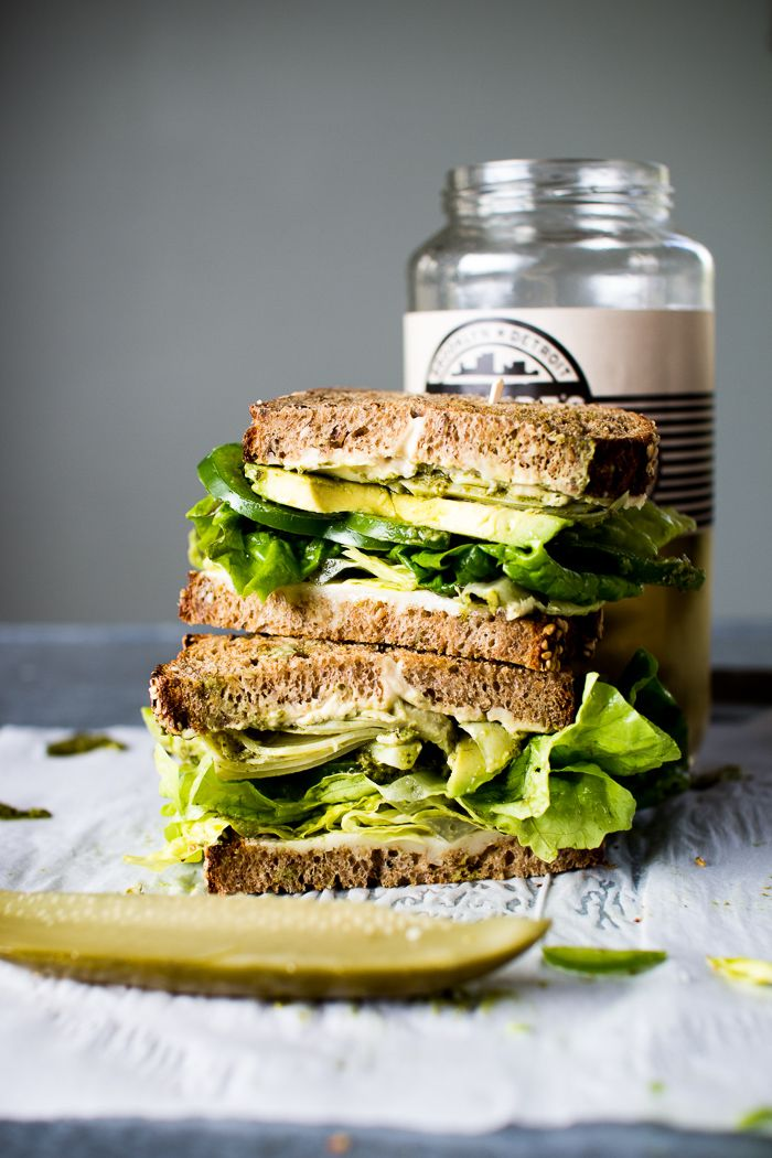 Flourishing Foodie: The Ultimate Veggie Sandwich + EXCITING NEWS!!!
